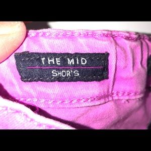 "Vigoss Bottoms - Girls Vigoss ""The Mid Shorts"" Jean Shorts"